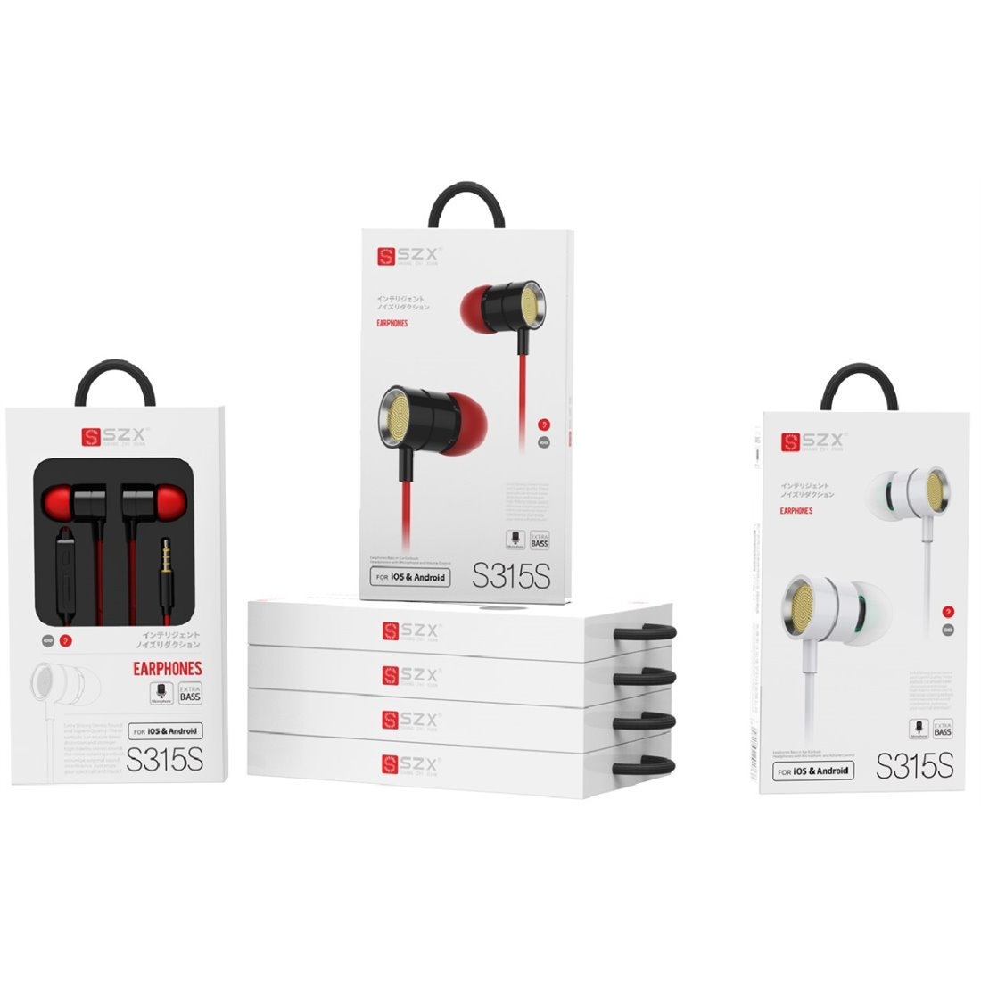 SZX S315S  Earphones Music and calls wit