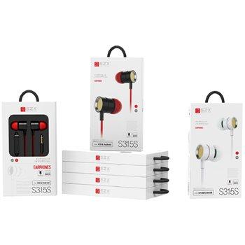 SZX S315S Earphones Music and calls zwart