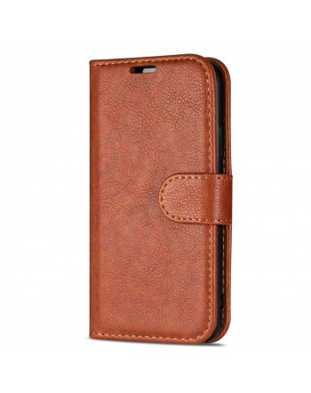 Genuine Leather Book Case iPhone X1 R Red