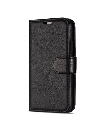 Genuine Leather Book Case iPhone X1 Max Light brown