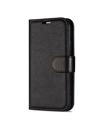 Genuine Leather Book Case iPhone X1 Max Red