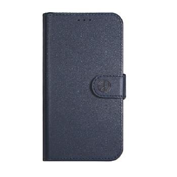 Super Wallet Case iPhone 6S Donker Blauw