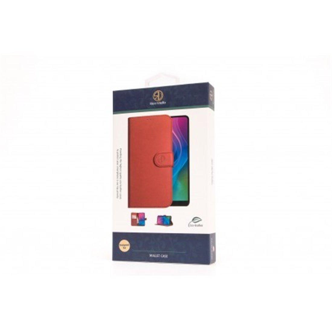 Echt Leren Book Case iPhone X/XS Zwart