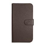 Super Wallet Case iPhone 5 SE Donker Bruin