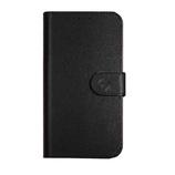 Super Wallet Case iPhone 5 SE Zwart