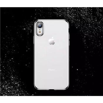 Zachte jane serie met grijs rand voor iphone X/XS