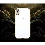 Zachte jane serie met goud rand voor iphone XS Max