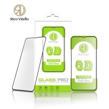 6D iPhone 11 (XR) Screenprotector zwart