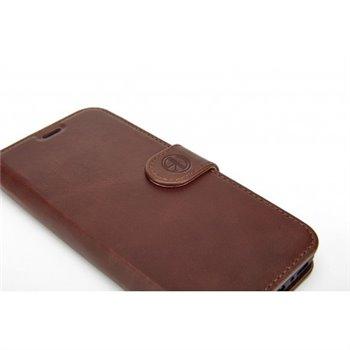 Genuine Leather Bookcase iPhone 6/6S Black