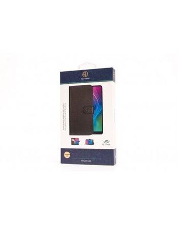 Genuine Leather Bookcase Samsung Galaxy S6 Edge Black